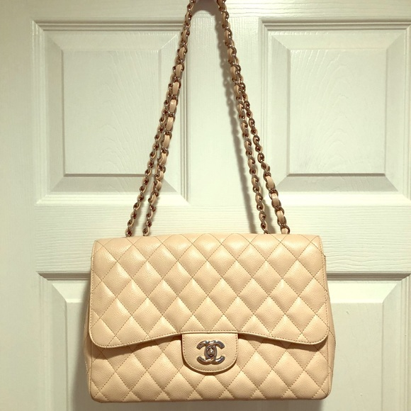 4eb3acdb2dc5 CHANEL Handbags - Chanel Classic Jumbo Single Flap Bag